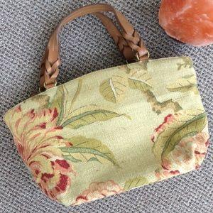 🌴 Fossil handbag 🌴 like new! 🌴 beige floral 🌴